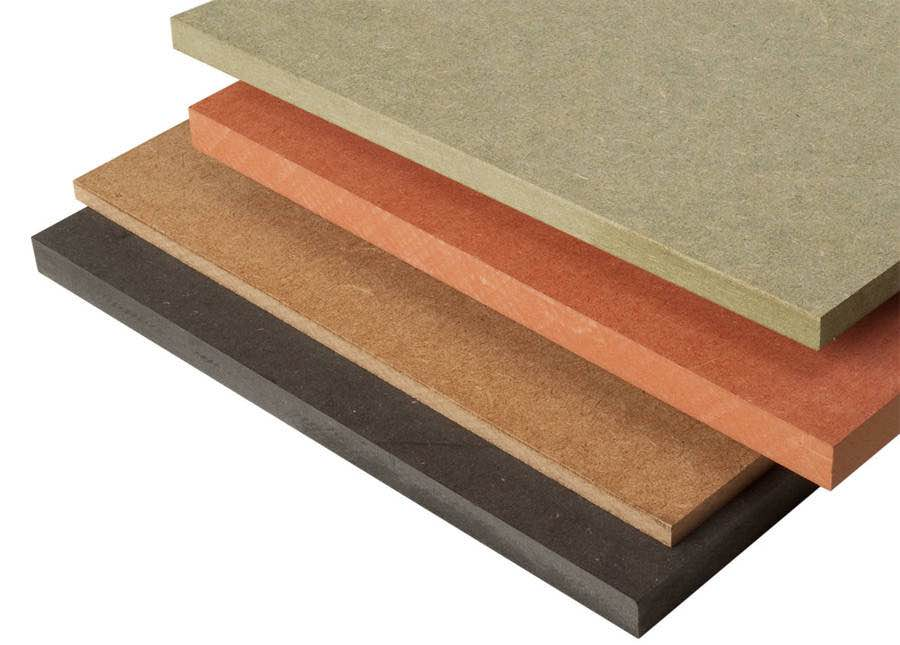 Normal MDF, MRMDF, FRMDF